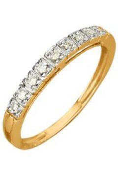 Damenring mit Diamant KLiNGEL Gelbgoldfarben(111496328)