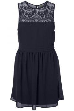 VERO MODA Dentelle Mini-robe Women blue(116497708)