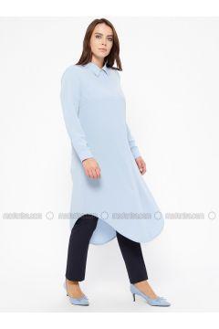 Blue - Point Collar - Tunic - EFE FERACE(110322419)