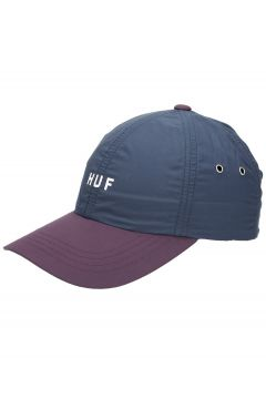 HUF Standard Contrast CV 6 Panel Cap blauw(114565723)