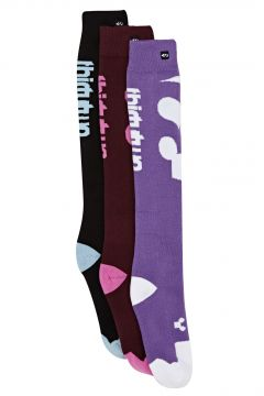 Thirty Two Cutout 3pk Snow Socks - Assorted(115309722)