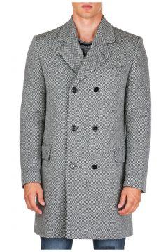 Men's double breasted coat overcoat(116789186)