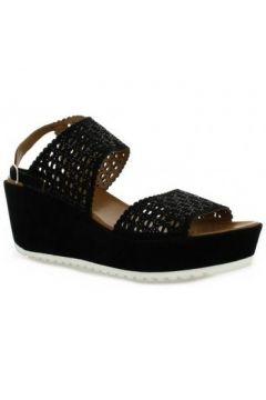 Sandales Femme Plus Nu pieds cuir velours(98529656)