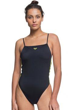 Roxy Sisters Hi Leg Sporty Swimsuit grijs(111095908)