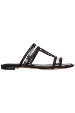 Women's genuine leather slippers sandals(116881532)