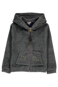 Sweatshirt in Pelz-Optik Meow(113612344)