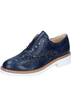 Chaussures Olga Rubini élégantes bleu glitter cuir BY324(115401104)