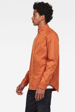 Stalt Button Down Straight Shirt(114600147)