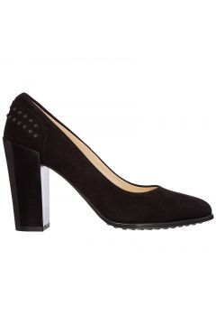 Women's suede pumps court shoes high heel(116881766)