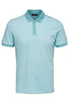 SELECTED Regular Fit - Polo Heren Blauw(108965661)