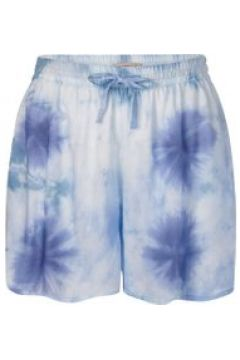 Shorts mit trendigem Batik-Print aus Modal Codello jeans blue(111527615)