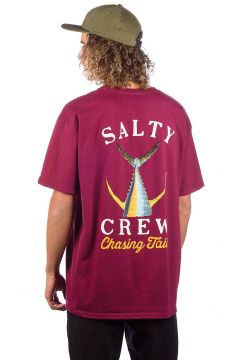 Salty Crew Tailed T-Shirt rood(85188353)