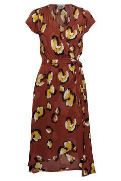 Hilma Dress Kleid Knielang Rot TWIST & TANGO(89786621)