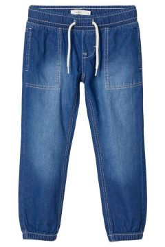 NAME IT Regular Fit Elastic Waist Jeans Heren Blauw(114504504)