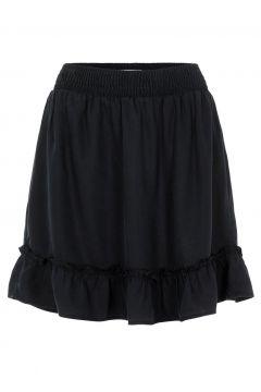 PIECES Taille Smockée Mini-jupe Women Black; Blue(112299296)