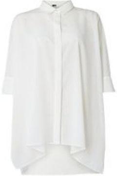 Emme Puglia winged shirt with side slit - White(110458113)