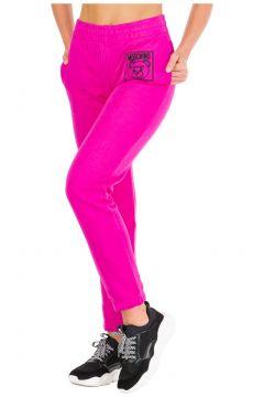 Women's sport tracksuit trousers teddy bear label(116935718)
