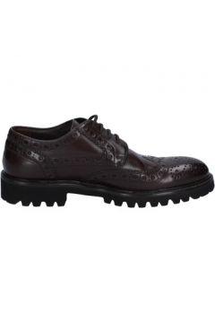 Chaussures Triver Flight élégantes marron (brun foncé) cuir BX570(115442585)