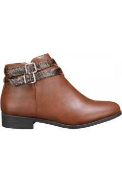 Boots C M Bottines femme bi matiere(101673292)