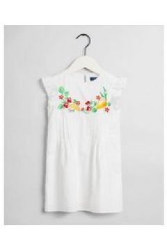 Girls Summer jurk met borduursel en franjes(109125534)