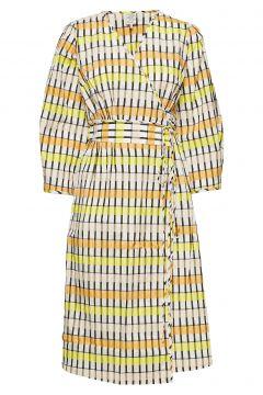 Abylene Kleid Knielang Gelb BAUM UND PFERDGARTEN(109200474)