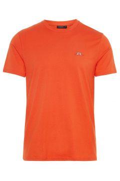 J.LINDEBERG Bridge Cotton T-shirt Heren Rood(108404788)