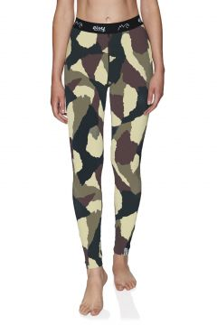 Leggings Seconde Peau Femme Eivy Icecold Tights - Wine Camo(111332159)