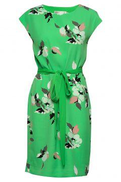 Saffron Dress Kurzes Kleid Grün INWEAR(103468828)
