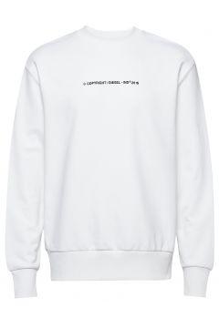 S-Bay-Copy Sweat-Shirt Sweat-shirt Pullover Weiß DIESEL MEN(114153273)