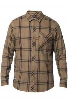 Fox Voyd 2.0 Flannel Shirt bruin(109183990)