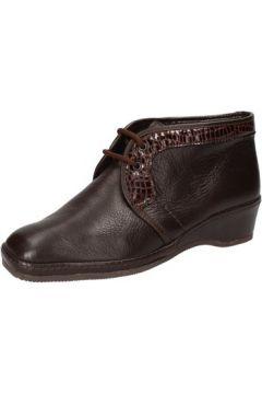 Boots Susimoda bottines marron cuir cuir verni AD818(115393775)