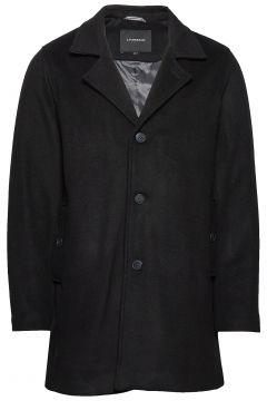 Melange Wool Coat Wollmantel Mantel Schwarz LINDBERGH(114156583)