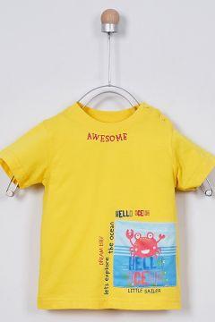 T-shirts Pour Bébé Panço Jaune(109327582)