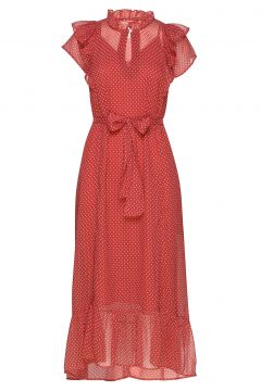 Ricca Dress Kleid Knielang Rot LOLLYS LAUNDRY(109274182)