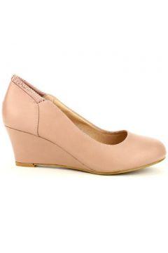 Espadrilles Cendriyon Compensées Rose Chaussures Femme(115425390)