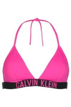 Calvin Klein Intense Power Triangle Bikini Top - Pink TZ7(110464520)