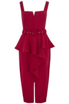 Rotes Bodyconkleid mit Eckigem Ausschnitt, Paper Dolls(108944683)