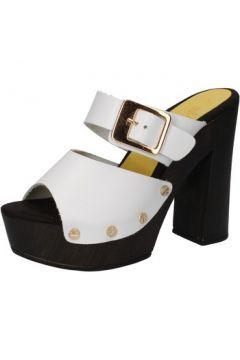 Sandales Suky Brand sandales blanc cuir AC768(88469803)