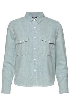 Lmc Shrunken Dnm Shirt 2 Lmc B Langärmliges Hemd Blau LEVI\'S MADE & CRAFTED(108467585)