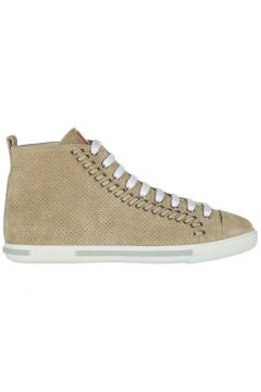Women's shoes high top suede trainers sneakers(116887544)