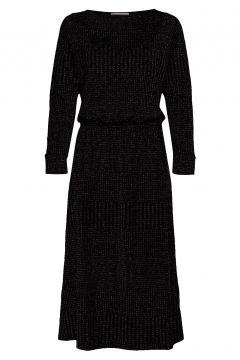 Dhkick Batsleeve Dress Kleid Knielang Schwarz DENIM HUNTER(113865803)