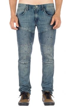 Ninth Hall Decoy Fit Moto Jeans blauw(85172439)