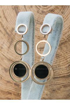 Golden tone - Earring - Forivia Accessories(110334101)