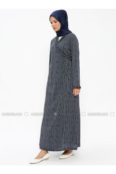 Navy Blue - Multi - Unlined - Prayer Clothes - Me Like(110322565)