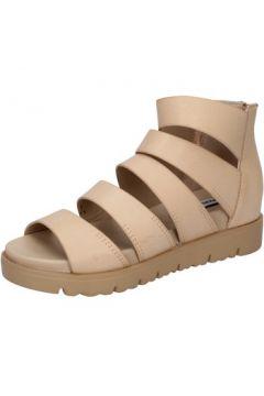 Sandales Francescomilano sandales marron cuir BY56(88522588)