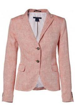 Vestes de costume Gant Veste rose cerise Herringbone pour femme(88443550)