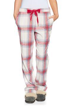 Pyjamas Femme Joules Snooze Woven Bottoms - Cream Check(111330307)