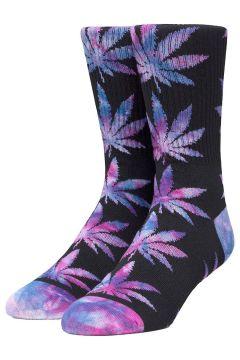 HUF Plantlife Tiedye Leaves Socks zwart(114622833)