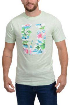 T-shirt Ruckfield T-shirt Chabal Island Vert(98704922)