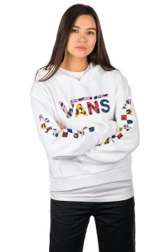 Vans Wyld Tangle Crop Hoodie white(99188974)